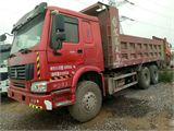中国重汽 豪沃 5米8大箱,后八轮自卸车