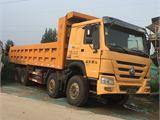 中国重汽 豪沃 自卸车 HOWO重卡 375马力 8X4 自卸车(后翻)(ZZ3317N4067C1)
