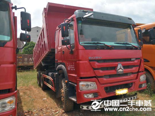 中国重汽 豪沃 380国五后八轮自卸