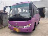 金龙 海格客车 33座海格6755 紫色