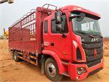 江淮 江淮格尔发K系列 载货车 K5中卡 180马力 4X2 6.8米排半仓栅式载货车(HFC5161CCYP3K2A53S2V)