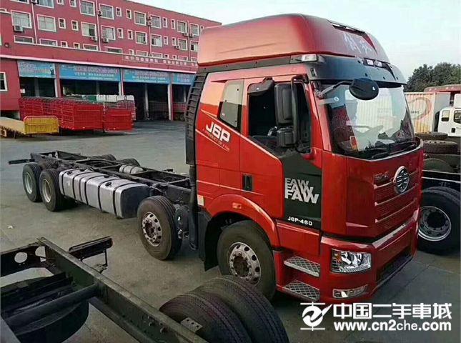 一汽解放 J6P 载货车 重卡 重载型 460马力 8X4 9.5米栏板载货车(CA1310P66K24L7T4E5)