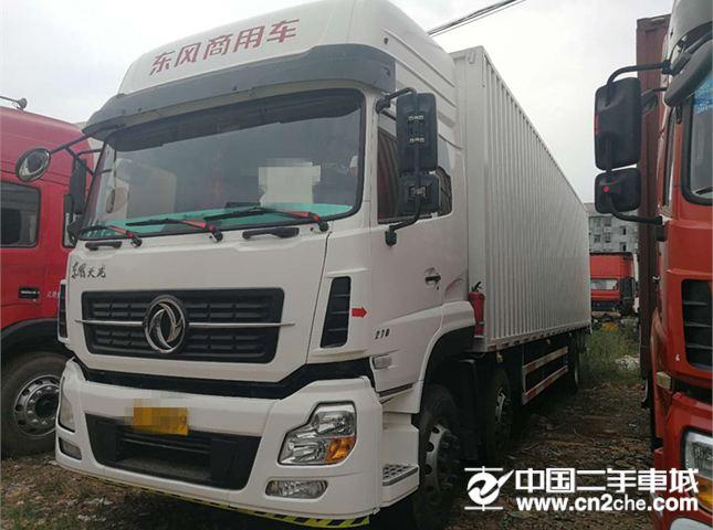 东风 天龙 270马力,4X4 箱式载货车
