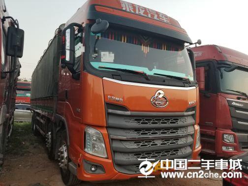 东风柳汽 乘龙 H7重卡 350马力 8X4 9.6米仓栅式底盘