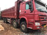 中国重汽 豪沃 国五 380马力 前四后八 7.6M车厢
