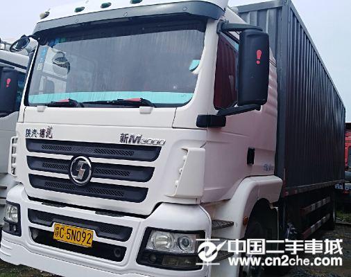 陕汽重卡 德龙X3000 245马力 6X2 9.5米栏板载货车(SX12564K549)