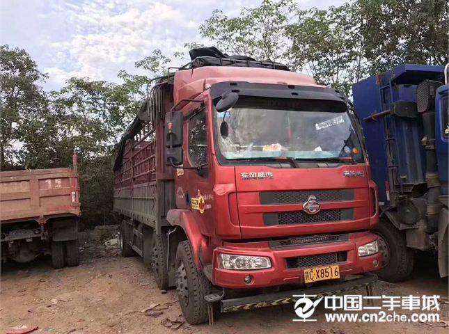 东风柳汽 乘龙 载货车 609中卡 220马力 6X2  仓栅