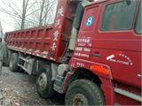 陕汽重卡 德龙F3000 二手德龙自卸车,7米8大箱,前四后八,全手续