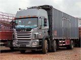 江淮 江淮格尔发K系列 格尔发A5X重卡 245马力 6X2 8.5米排半仓栅式载