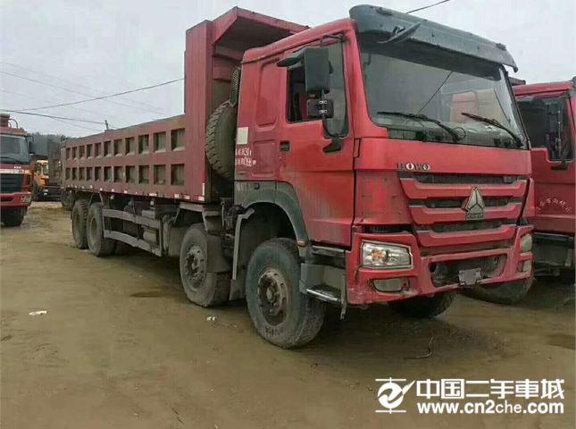 中国重汽 自卸车 豪沃