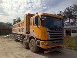 江淮 江淮格尔发A系列 A3重卡 375马力 8X4 8米自卸车