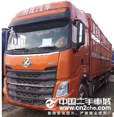 东风柳汽乘龙H7前四后八高栏精品价格26.70万