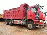 一汽解放 J6P 重卡420马力6X4后八轮自卸车