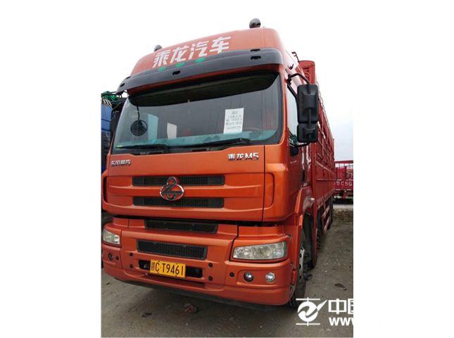 东风柳汽 乘龙M5 重卡 320马力 8X4 9.6米仓栅式载货车(LZ5311CCYQELA)