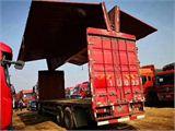 一汽解放 J6P 350马力,前四后八,9.6米双飞翼厢式货车
