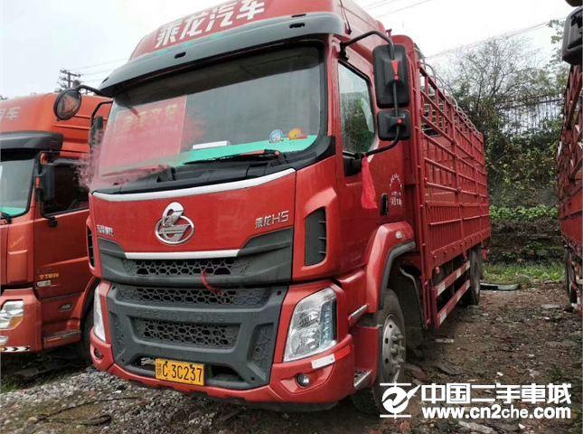 东风柳汽 乘龙 载货车 H5 220马力 4X2 6.8米仓栅式载货车(高顶双卧)(LZ5182CCYM3AB)