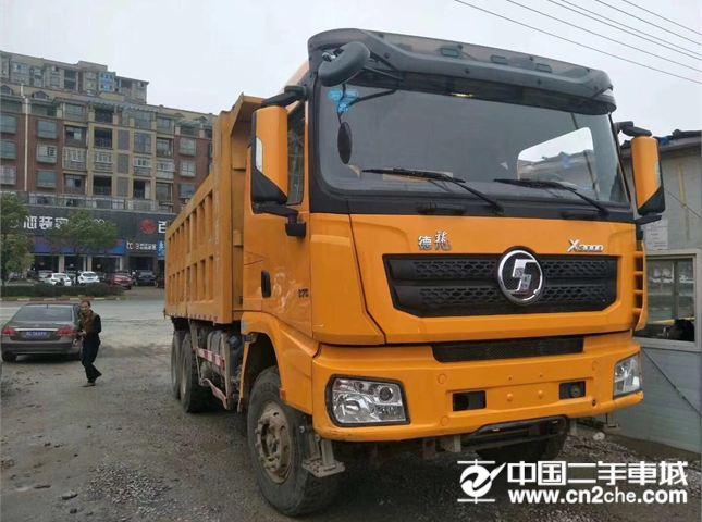 陕汽重卡 德龙X3000 自卸车 重卡 375马力 6×4 自卸车
