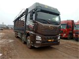 青岛解放 JH6 JH6重卡 375马力 8X4 9.5米载货车