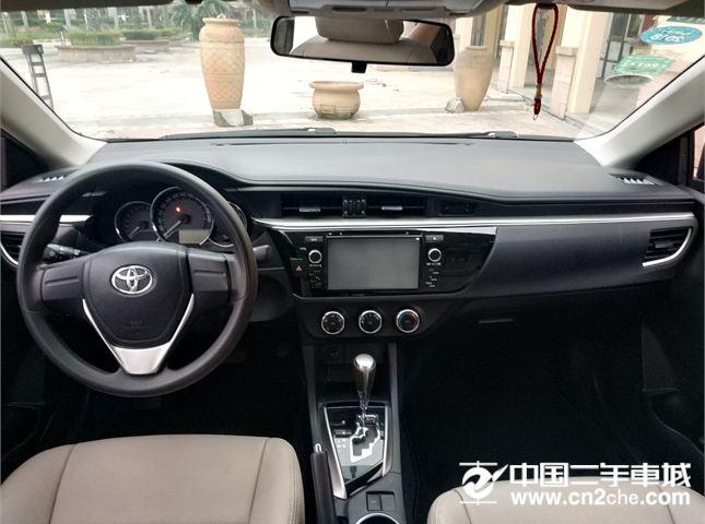 丰田 雷凌 2016款 1.6G CVT 精英版