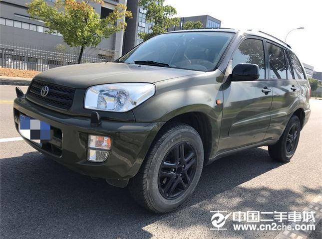 豐田 RAV4 豐田RAV4進口2.0  綠