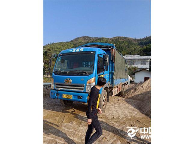 赛龙 青岛解放 CA5161CCYPK2l2EA80-1仓栅式运输车