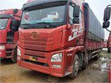 青岛解放 JH6 JH6重卡 375马力 8X4 9.5米仓栅式载货车