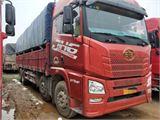 青島解放 JH6 JH6重卡 375馬力 8X4 9.5米倉柵式載貨車