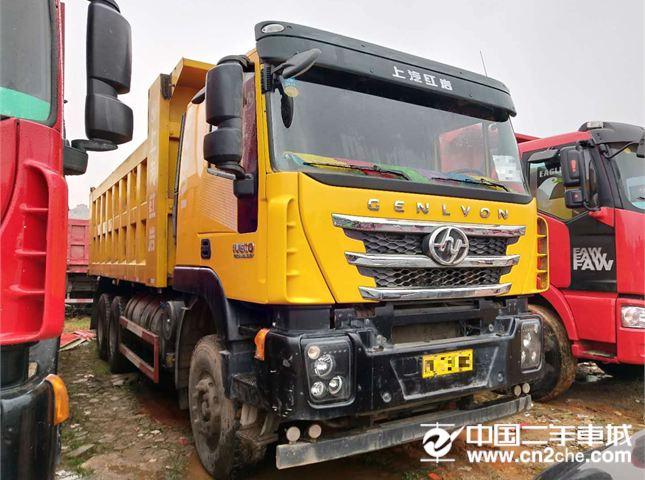 上汽红岩 杰狮 自卸车 C100重卡 390马力 6X4 6.2米自卸车(CQ3255HTG424)