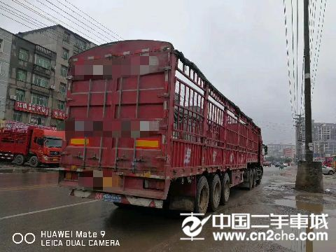 东风 天龙 13米牵引挂车