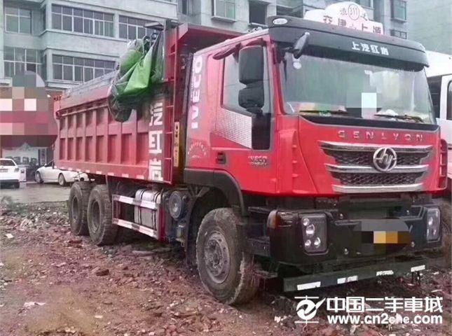 上汽红岩 杰狮 C500重卡 350马力 6X4 6米自卸车(CQ3256HTVG424L)