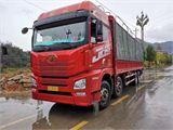 青岛解放 JH6 重卡 400马力 8X4 9.5米载货车(CA1310P25K2L7T4E5A80)