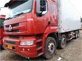 东风柳汽 乘龙M5 前四后八  290马力  冷藏厢式载货车