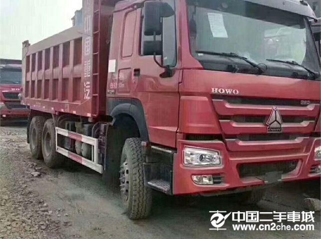 中国重汽 豪沃 380自卸货车