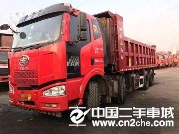 一汽解放 J6P 8X4 320马力6.8米自卸车