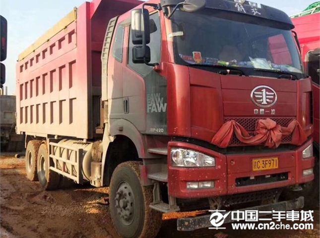 一汽解放 J6P 420动力6X4自卸车