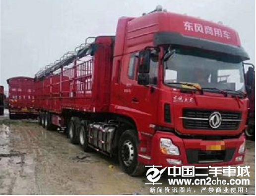 东风 天龙 450马力牵引挂车