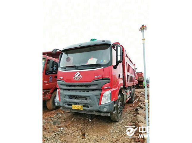 东风柳汽 乘龙 乘龙h7,400马力,6米货箱后八轮自卸车