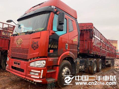 一汽解放 J6P 牵引车 新J6P重卡 领航南方版 460马力 6X4牵引车(CA4250P66K2