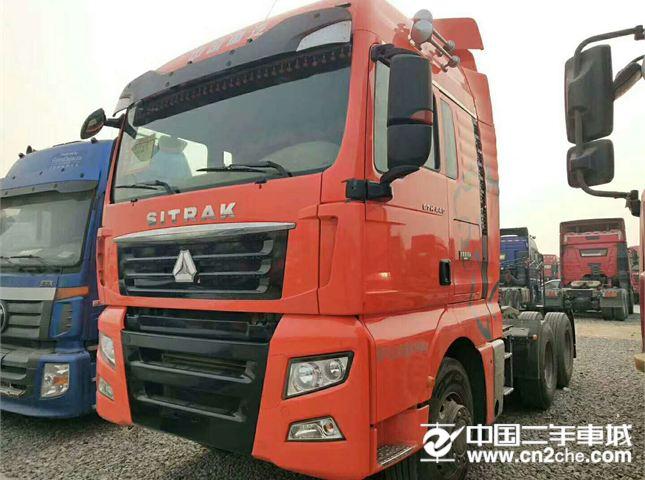 中国重汽汕德卡540马力轻体德国曼发动机国五排放价格25.60万
