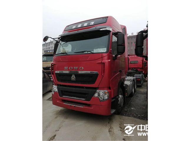 中国重汽 豪沃 新车T7H重卡 540马力 6X4牵引车