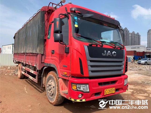 江淮 江淮格尔发K系列 K5中卡 190马力 4X2 6.8米栏板载货车底盘(HFC1161P3K2A50S5V)