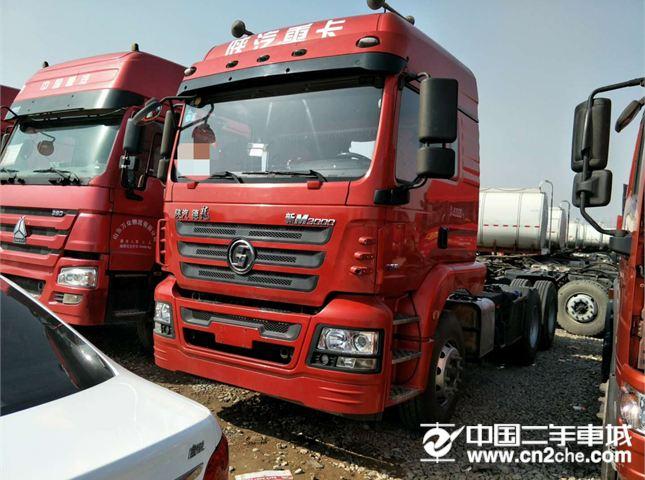 陕汽重卡 德龙新M3000 出售二手牵引车德龙新M3000解放J6 豪沃汕德卡天龙欧曼等