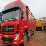 東風 天龍 雷諾 8X4 350馬力9.6米高欄貨車