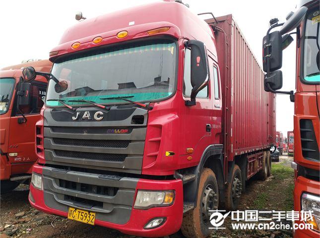 江淮 江淮格爾發K系列 載貨車 K5X重卡 290馬力 8X2 9.5米廂式載貨車(HFC5311XXYP2K4G43S1V)