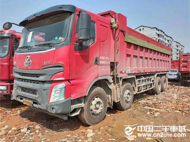 东风柳汽 乘龙 自卸车 H7 重卡 400马力 8X4
