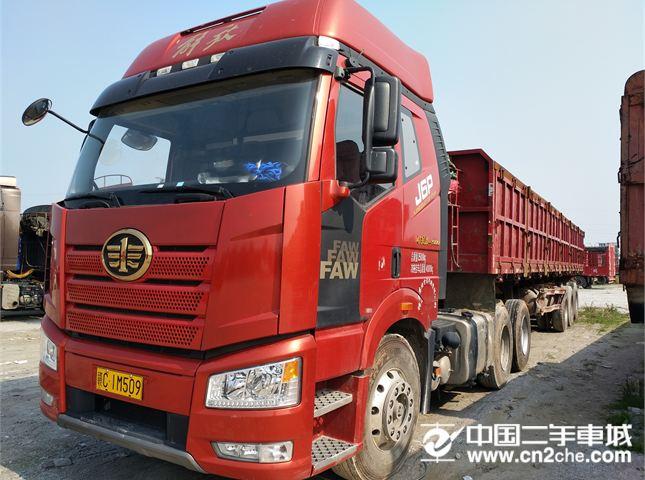 一汽解放 J6P 牵引车  新J6P重卡 领航版 500马力 6X4牵引车(CA4250P66K25T1A1E5)