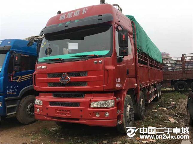 東風柳汽 乘龍M5 重卡 320馬力 8X4 9.6米排半倉柵載貨車底盤(LZ5311CCYM5FA)