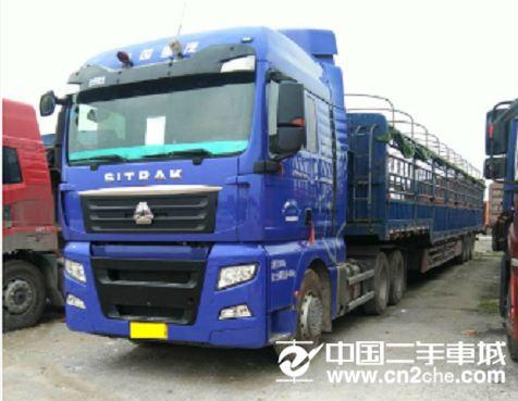 中国重汽 汕德卡 牵引车 C7H重卡 540马力 6X2R牵引车(ZZ4256V323HE1)