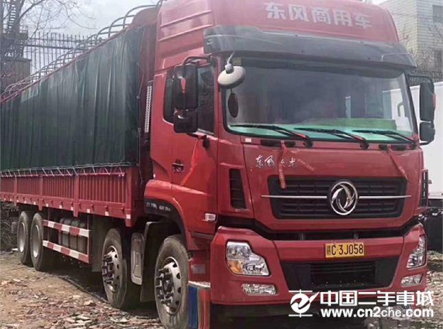 东风 天龙 420马力前四后八载货车