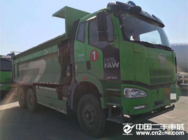 一汽解放 J6P 350马力环保自卸货车
